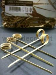 Curl Bamboo Skewers for decoStick®