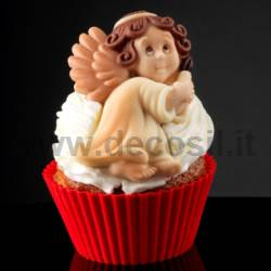 Angel with Candle Mould