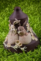 LINEAGUSCIO®  Bunny Bell Chocolate Easter mould
