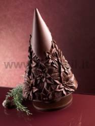 Christmas Stars flowers - Chocolate Christmas Tree Mould