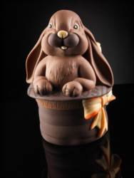 Bunny in the Magic Hat Chocolate Easter Egg Mould