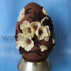 Easter Peach Flowers Egg Mould
