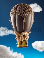Hot-air balloon Chocolate Easter Egg Mould