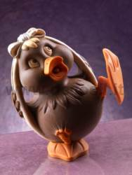 Duck Chocolate Easter Egg Mould