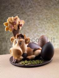 Cow Uvetta Chocolate Molds