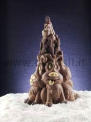 Reindeers Family Pine mould
