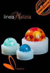 Sphere mould 15 cm Malizia Line