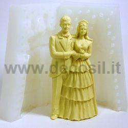 Stampo Sposi per torta nuziale Grandi