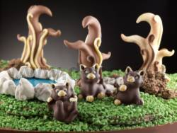 Funny Kittens - Cat chocolate moulds