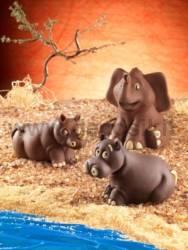 Hippopotamus mould