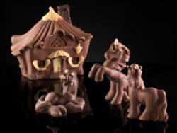 Baby Unicorn Sitting chocolate mold