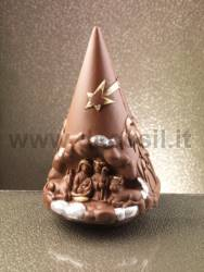 Chocolate Christ's Nativity Christmas tree mould