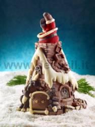 Moule Sapin Père Noël dans le cheminée