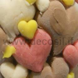 Easter Hearts Egg mould