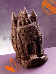 Castle Chocolate Easter Egg Mold
