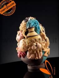 LINEAGUSCIO® Easter Zodiac Chocolate Easter Egg Mould