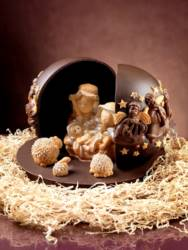 Chocolate Musician Angels Sphere mould