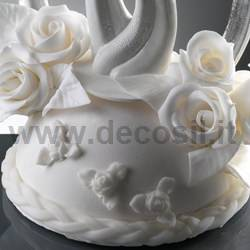 Border Braided Rope mould