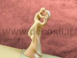 Stampo Sposi Stilizzati Tra le Braccia