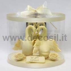 Swan chocolate mold
