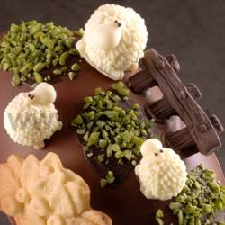 Funny Sheeps Chocolate Mold