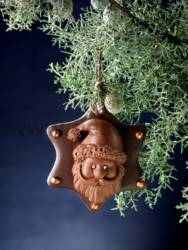 Santa Claus Ornament Mold