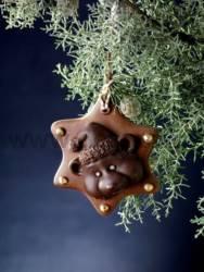 Teddy Bear Ornament chocolate mould