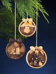 Christmas Crib Ornament Mould