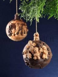 Moule Boule de Noël - Treble Clef