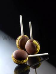 French Macaron Pops mould