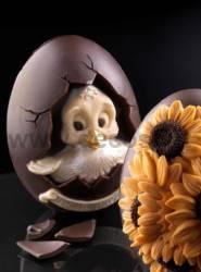 Chocolate Mold Medium Egg Pasquino mold