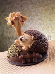Hedgehog Chocolate Mould