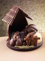 Moule à chocolat Chien