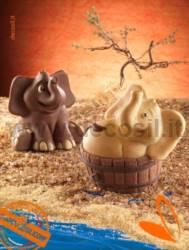 Sitting Elephant mould