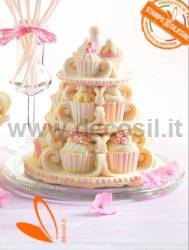 Cupcakes Bell mould