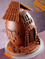 Farm Chocolate Easter Egg Mould