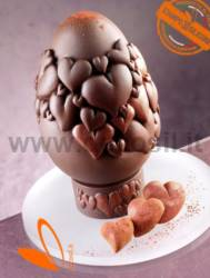 Hearts Chocolate Easter Egg Mould