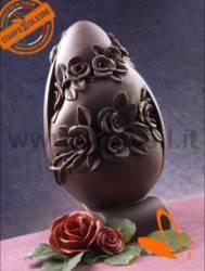 Stampo Guscio Uovo Grande Rose