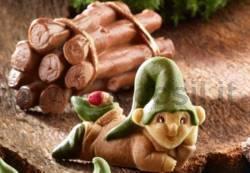 Moule Elf bébé Harvey avec Coccinelle
